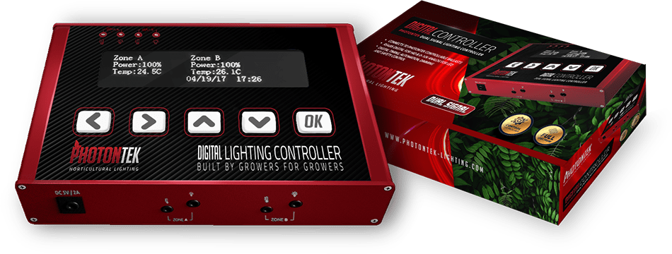 Digital Controller Top - Photontek Lighting